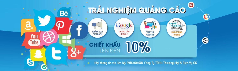 Khuyến mãi quảng cáo Google giảm 15%