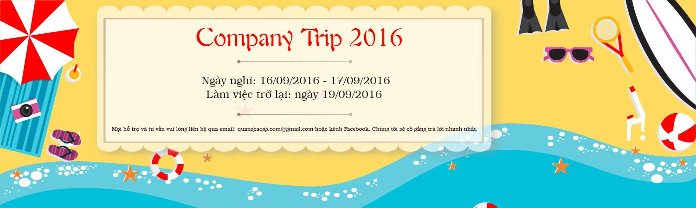Company trip 2016