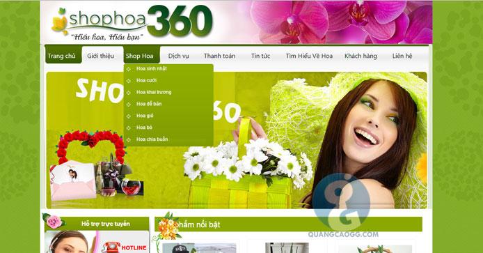 Khách hàng Shop Hoa 360